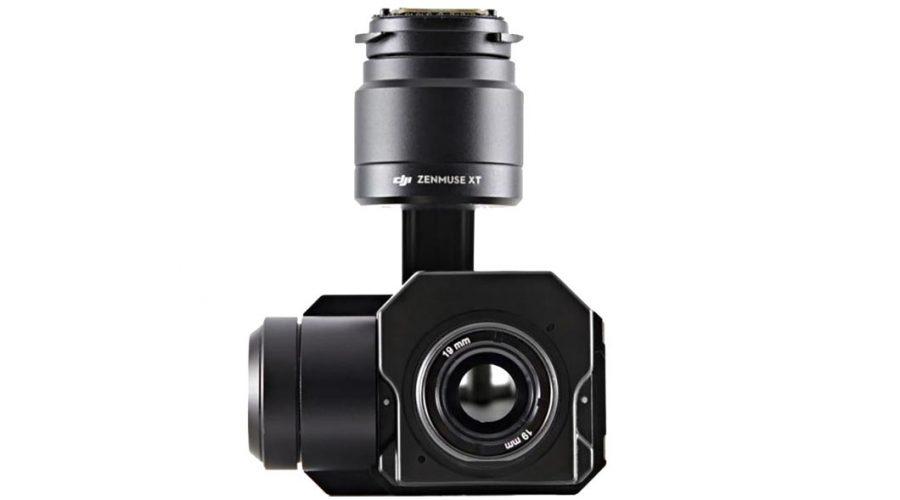 Video Cámara térmica + Gimbal DJI Zenmuse XT Radiométrica 640 19mm