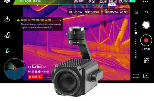 Cámaras termográficas para drones
