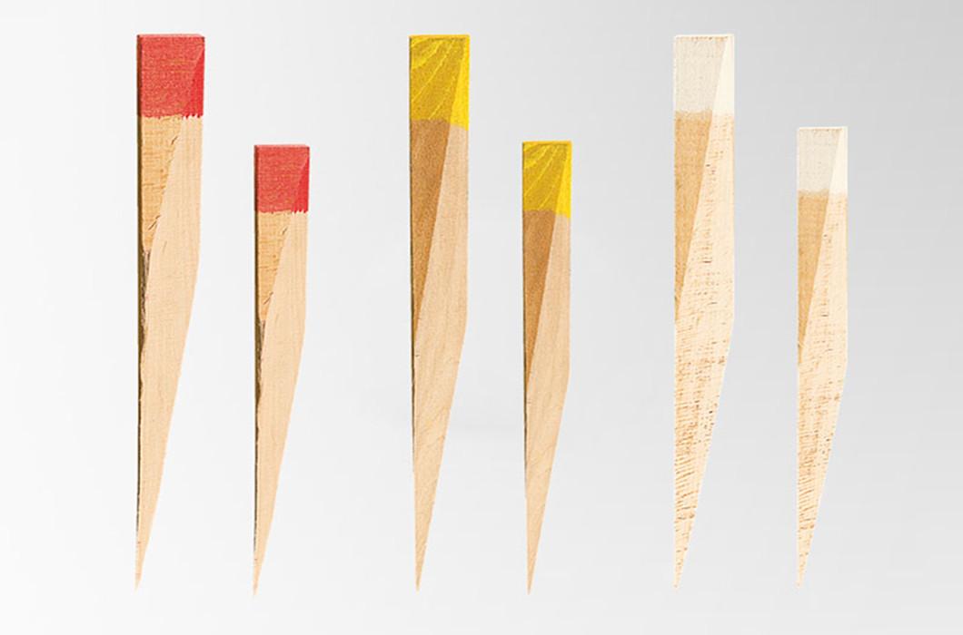 Estaca topogr fica de punta sesgada consumibles de topograf a - Estacas de madera para cierres ...