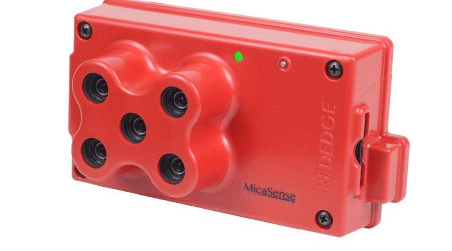 Video Cámara multiespectral RedEdge