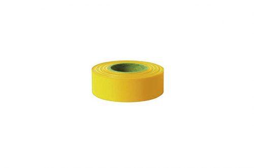 Cinta de seguridad color amarillo