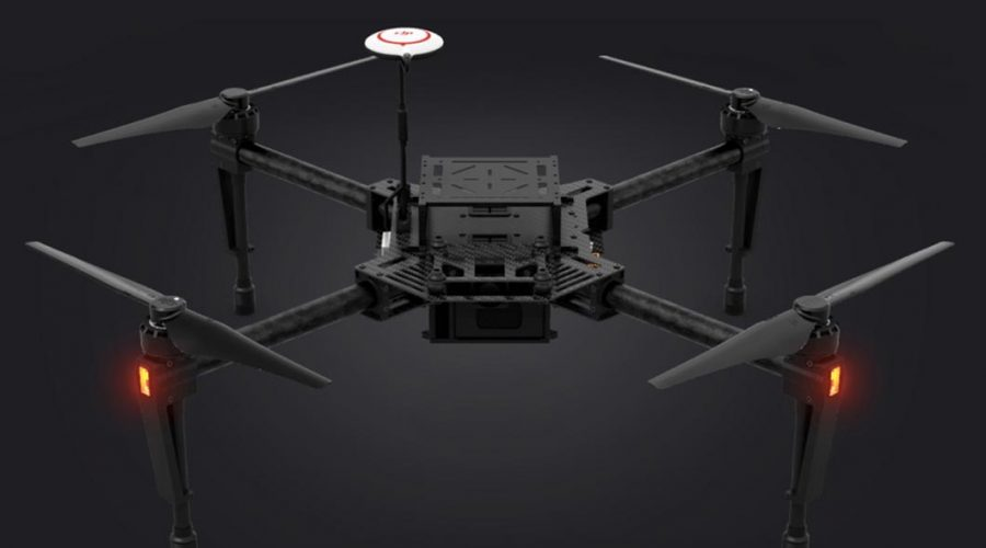 Video Dron DJI Matrice 100