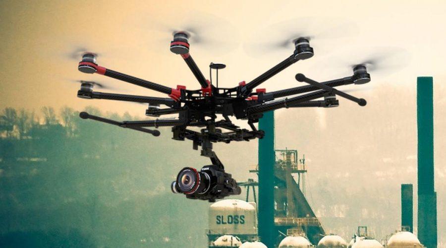 Video Dron DJI Spreading Wings S1000
