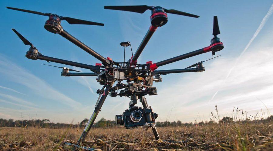 Video Dron DJI Spreading Wings S900