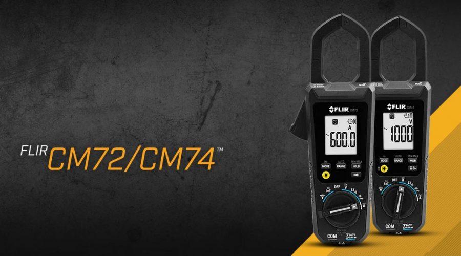 Video Medidor de tenaza CM72 600A AC