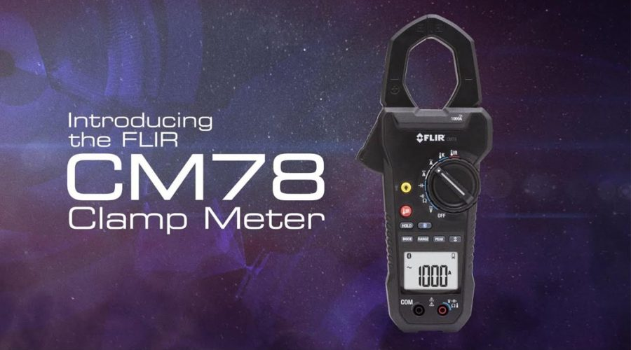 Video Medidor de tenaza CM78 1000A AC/DC