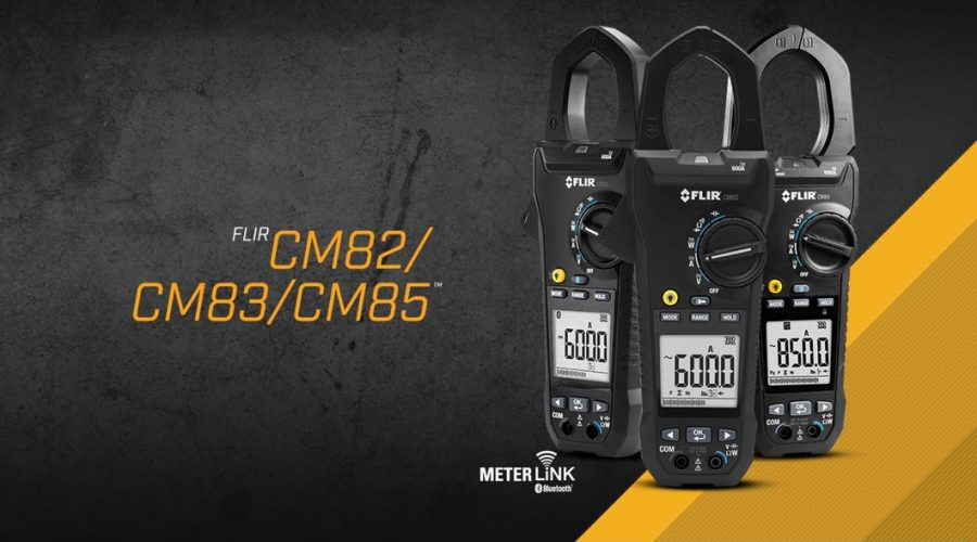 Video Medidor de tenaza CM82  600A con modo VFD