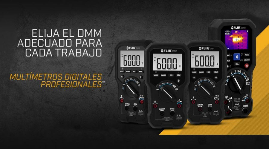 Video Multímetro DM93