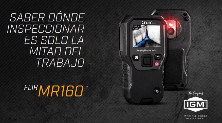 Video Medidor de humedad termográfico MR160