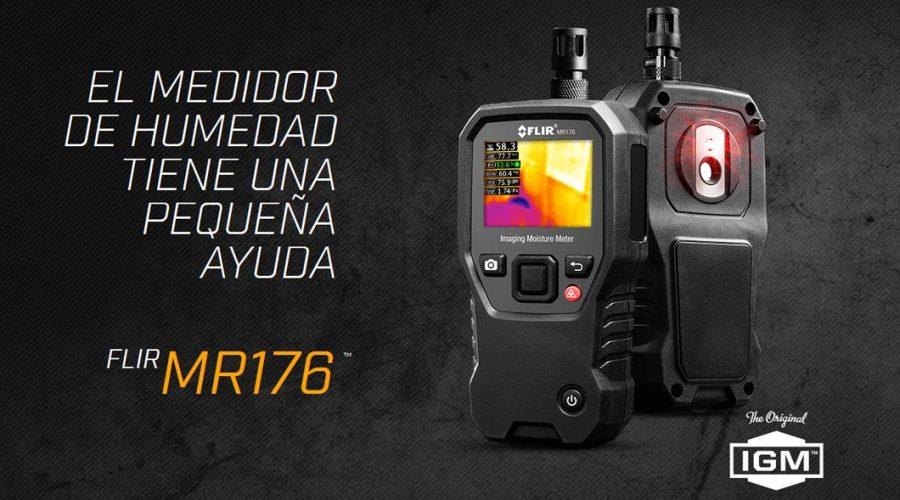 Video Medidor de humedad termográfico MR176