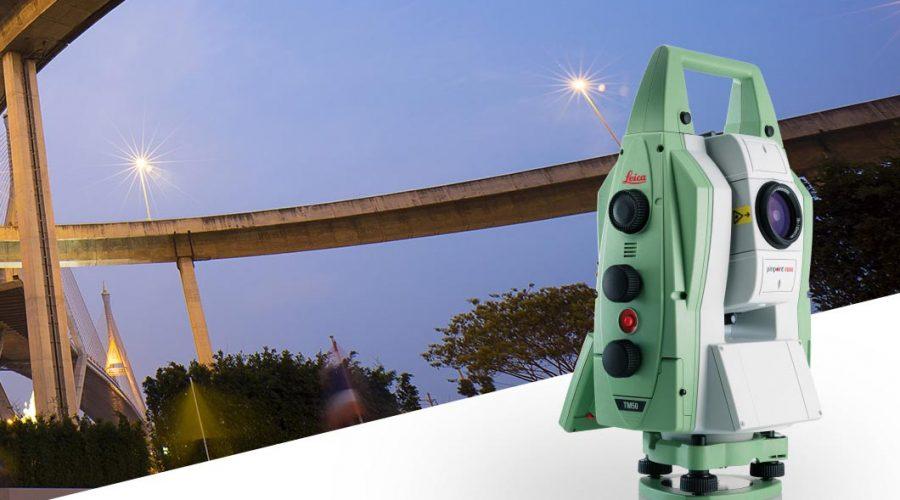 Video Estación Total Leica Nova TM50