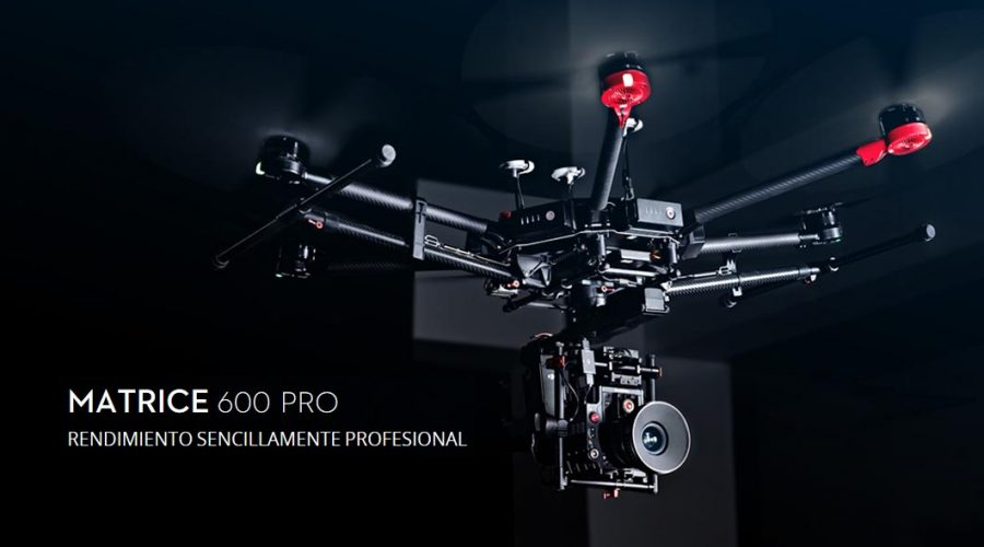 Video Dron DJI Matrice serie 600 PRO