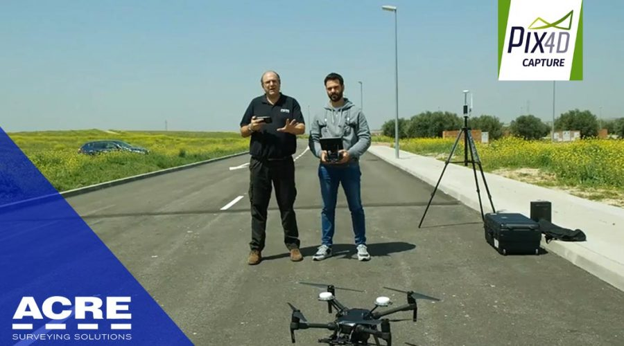 Video Software de vuelo planificado para dron Pix4Dcapture