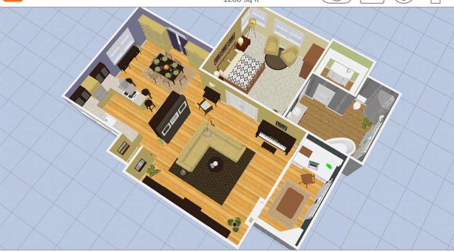 Video Cree planos y modelos realistas con Room Planner