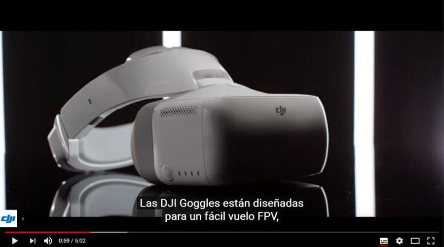 Video Goggles Gafas DJI para dron