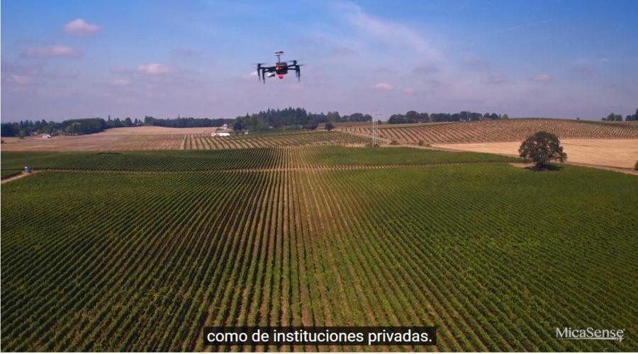Video Cámara multiespectral para dron Micasense ALTUM