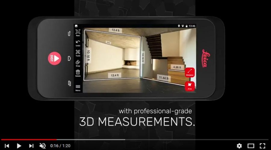 Video Medidor en 3D Leica BLK 3D