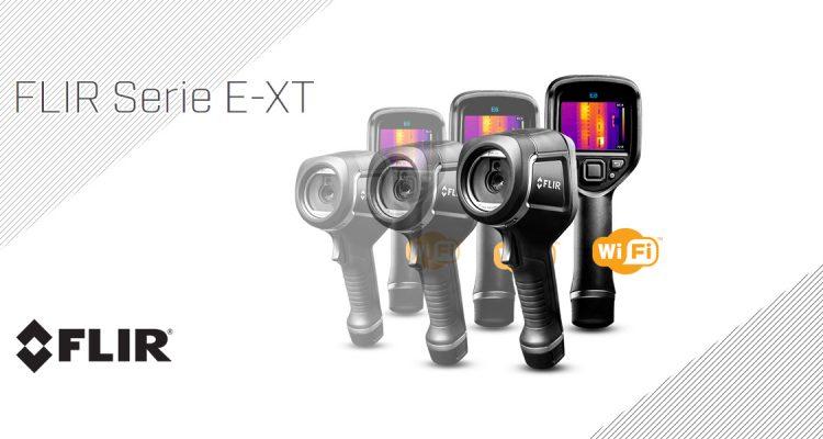 Nuevas cámaras termográficas FLIR E XT