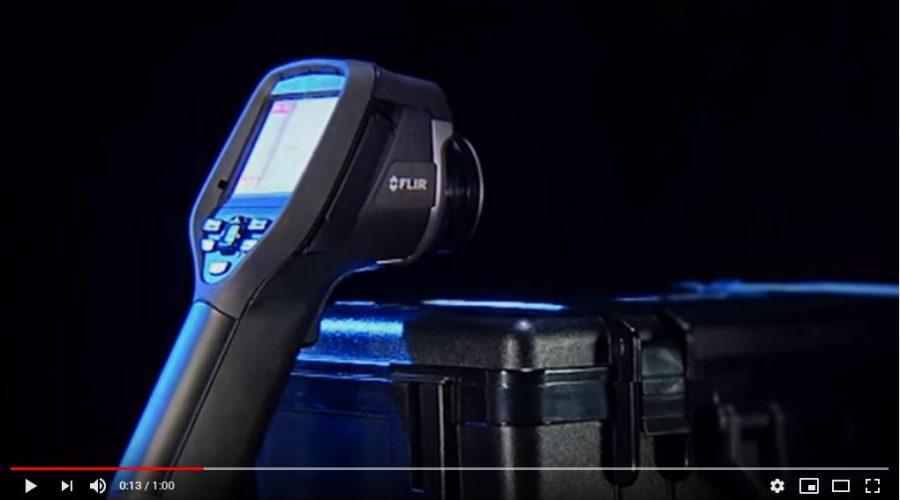 Video Cámaras termográficas FLIR E5 XT E6 XT y E8 XT