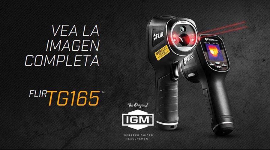 Video Termógrafo infrarrojo TG165