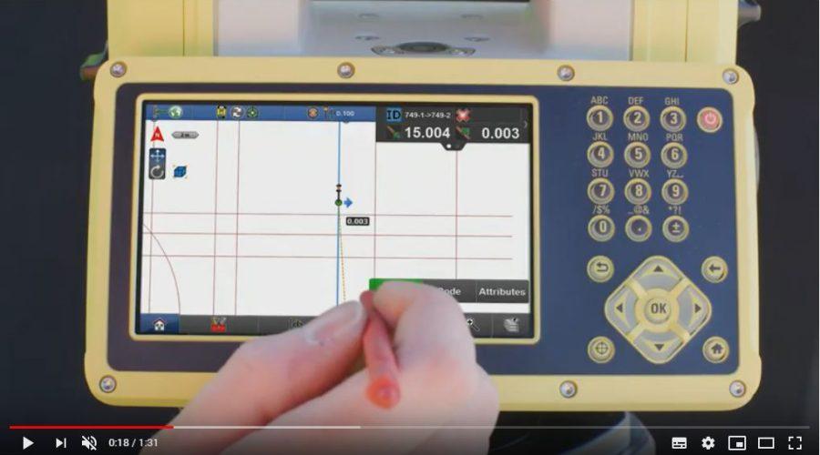 Video Estación total manual para la construcción Leica iCON iCB70