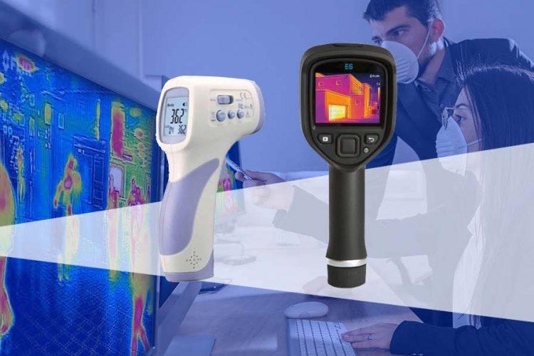 Termómetro-infrarrojo-o-cámara-termográfica