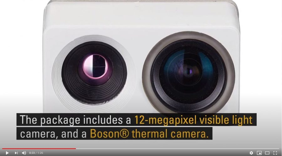 Video Módulo termográfico FLIR Hadron