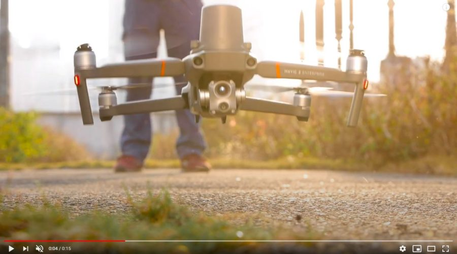 Video Dron DJI MAVIC 2 Enterprise ADVANCED