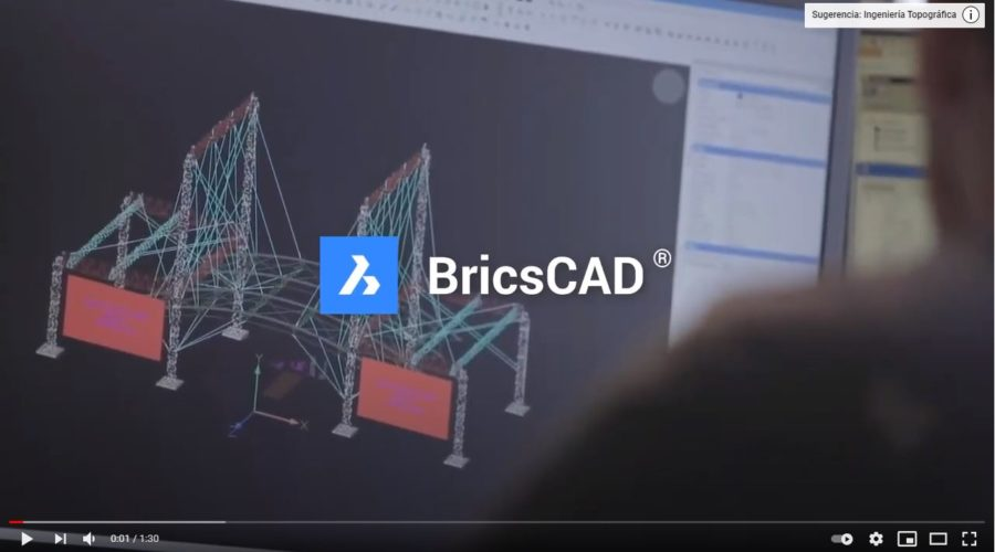 Video BricsCAD Pro: Software CAD para dibujo 2D y modelado 3D