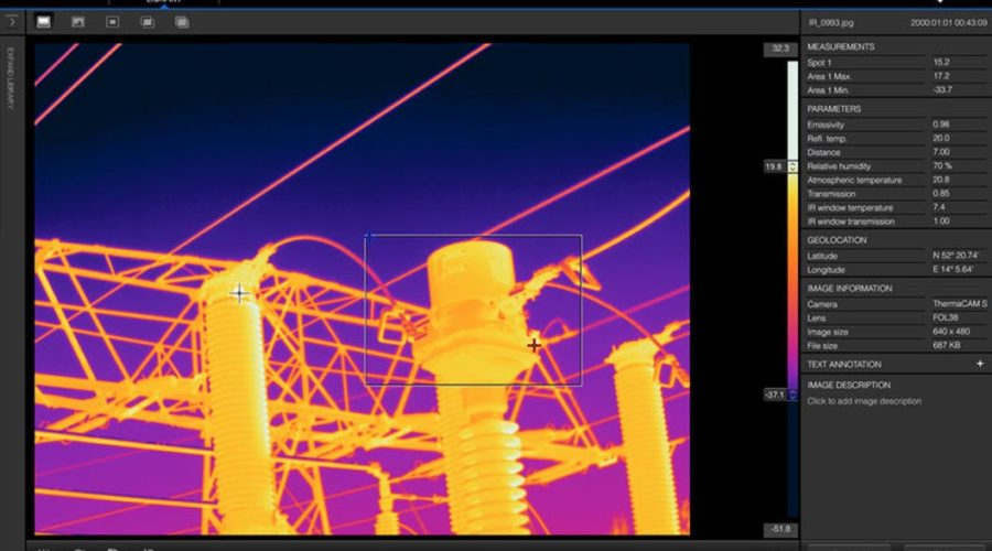 Video FLIR Reporter genera informes térmicos profesionales
